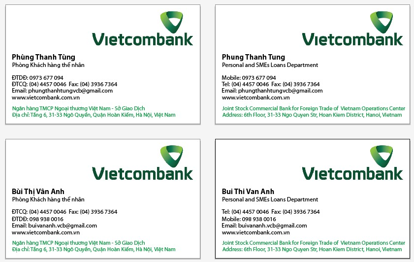 card-visit-vietcombank