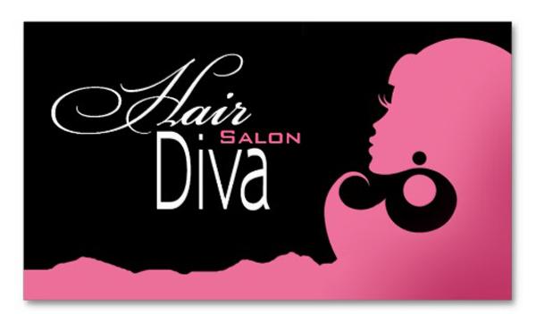 Mẫu thiết kế card visit salon tóc