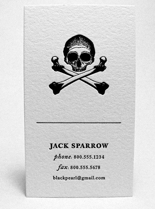 Thậm chí đến cướp biển cũng cần 1 tấm Card visit