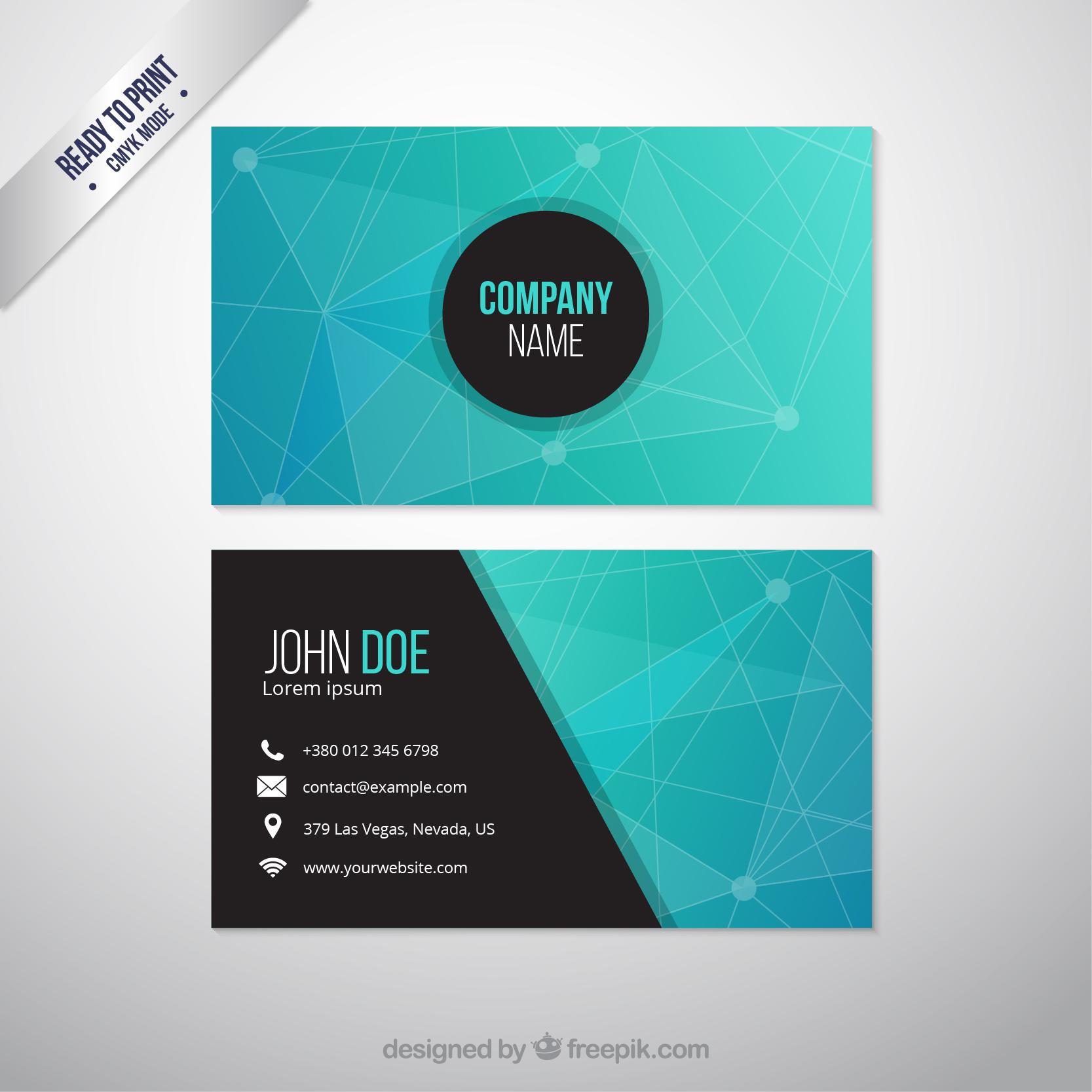 Mẫu card visit đẹp cho Agency
