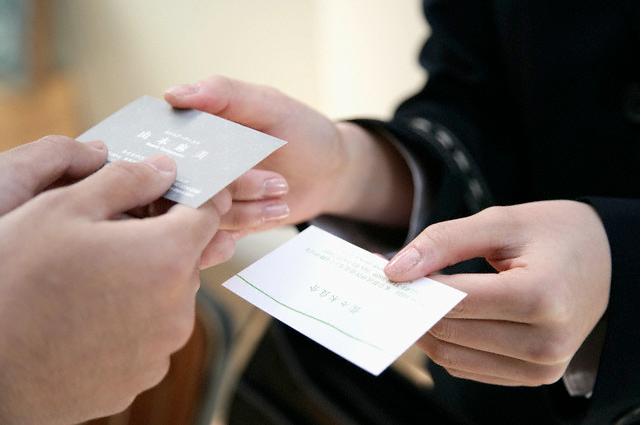 sử dụng card visit trong trường hợp nào